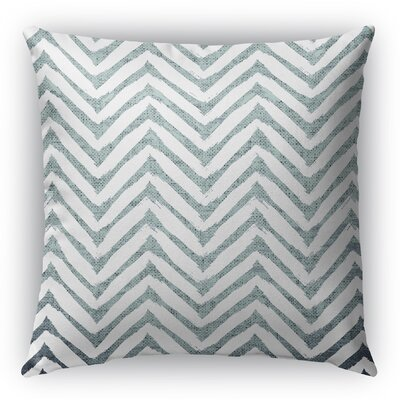 Leeanna Throw Pillow Size: 16 H x 16 W x 6 D, Color: Light Blue