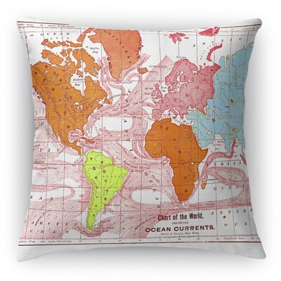 Gracelyn Throw Pillow Size: 24 H x 24 W x 6 D
