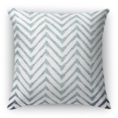 Leeanna Throw Pillow Size: 16 H x 16 W x 6 D, Color: Light Blue