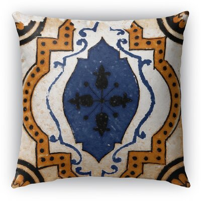 Linus Tile Throw Pillow Size: 26 H x 26 W x 6 D