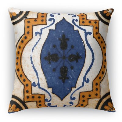 Linus Tile Throw Pillow Size: 18 H x 18 W x 6 D