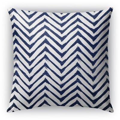 Leeanna Throw Pillow Size: 16 H x 16 W x 6 D, Color: Blue