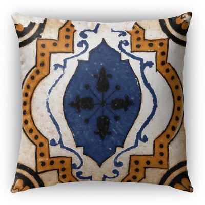 Linus Tile Throw Pillow Size: 16 H x 16 W x 6 D