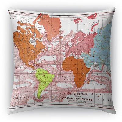 Gracelyn Throw Pillow Size: 16 H x 16 W x 6 D
