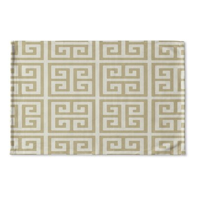 Ginger Flat Weave Bath Rug Color: Gold