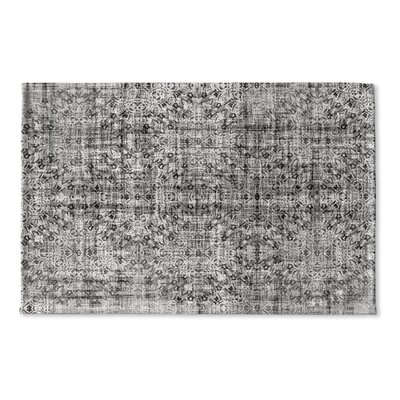 Markita Flat Weave Bath Rug Color: Grey