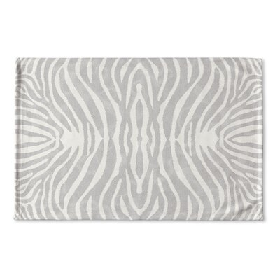 Nerbone Flat Weave Bath Rug Color: Grey/ Ivory