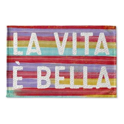 Felisha Flat Weave Bath Rug