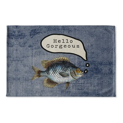 Brielle Gorgoues Flat Weave Bath Rug