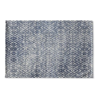 Barrett Distressed Flat Weave Bath Rug