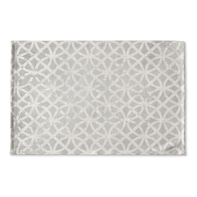 Vasques Flat Weave Bath Rug Color: Light Grey