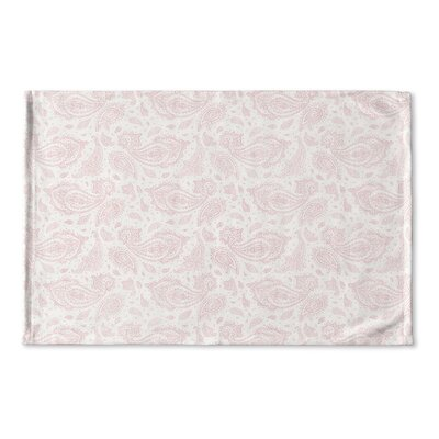 Saxatile Flat Weave Bath Rug Color: Pink