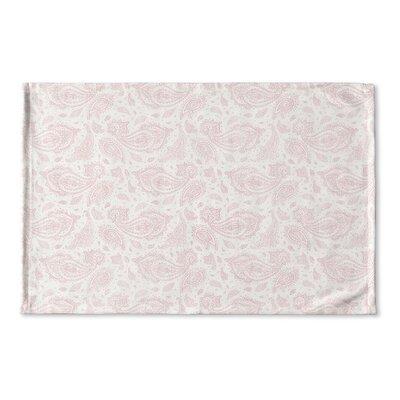 Saxatile Flat Weave Bath Rug Color: Pink