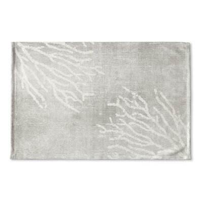 Rosia Flat Weave Bath Rug Color: Gray