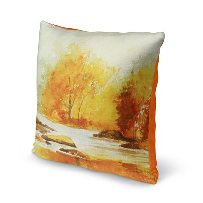Paxtonville Stream Throw Pillow Size: 16 H x 16 W x 6 D