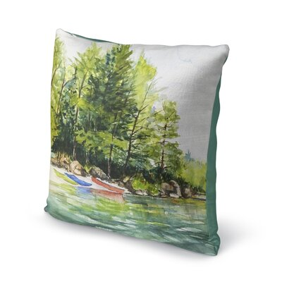 Antonella Throw Pillow Size: 16 H x 16 W x 6 D