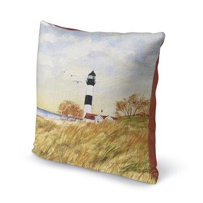 Rosette Throw Pillow Size: 16 H x 16 W x 6 D