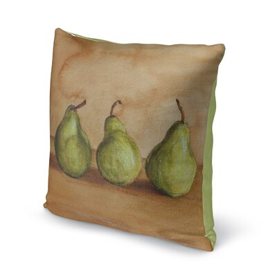 Emma Throw Pillow Size: 16 H x 16 W x 6 D