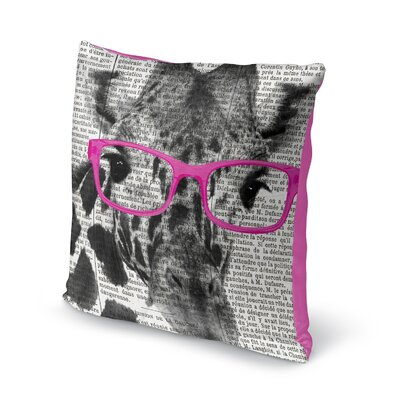 Balke Glasses Accent Pillow Size: 16 H x 16 W x 6 D