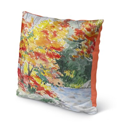 Paxtonville Outdoor Throw Pillow Size: 16 H x 16 W x 6 D
