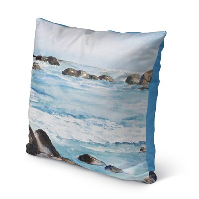 Minisink Outdoor Throw Pillow Size: 16 H x 16 W x 6 D