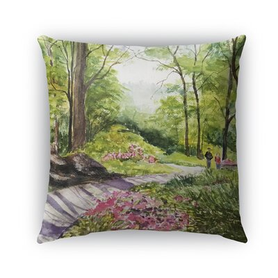 Leeann Outdoor Throw Pillow Size: 16 H x 16 W x 6 D