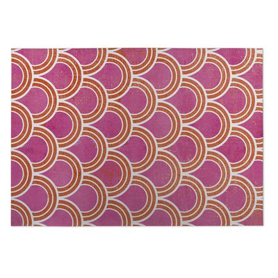 Madisen Loops Doormat Color: Pink