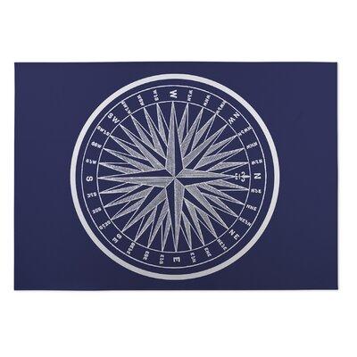 Mooers Nautical Compass Doormat