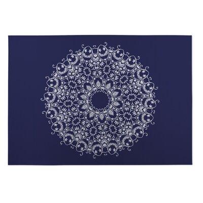 Christien Bloom Scroll Doormat