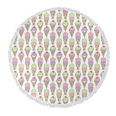 Garcia Round Beach Towel