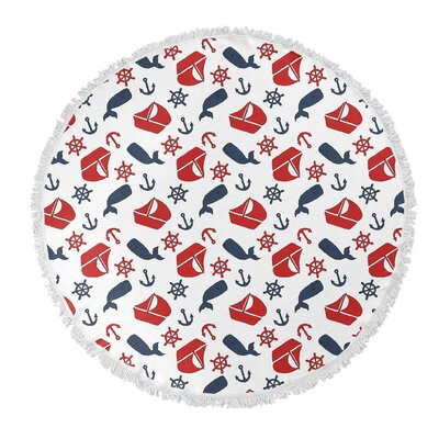 Melton Round Beach Towel