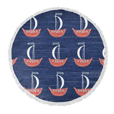 Hammond Round Beach Towel