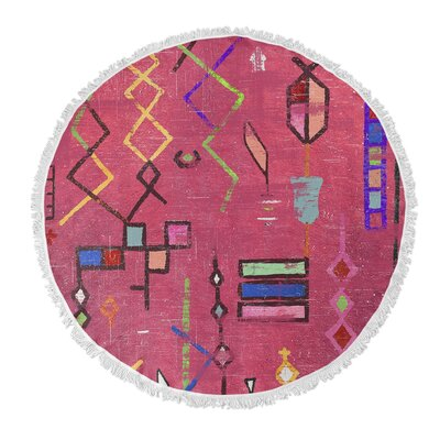 Celie Round Beach Towel