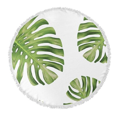 Haylee Round Beach Towel