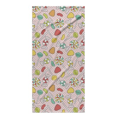 Candy Colorful Beach Towel