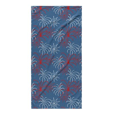 Danville Blue Beach Towel