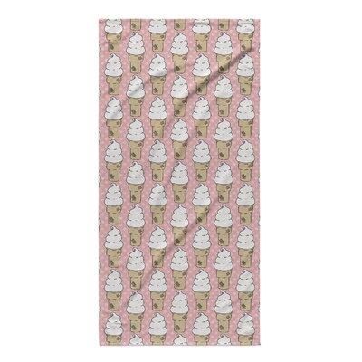 Garcia Pink Beach Towel