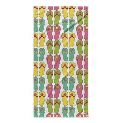Flip-flops Rectangle Beach Towel
