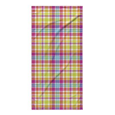 Harloe Plaid Beach Towel
