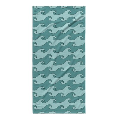Turquoise/Teal Beach Towel