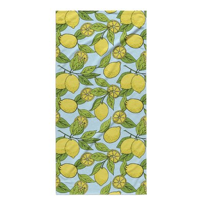Green/Yellow Beach Towel