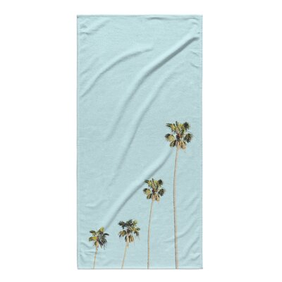 Trees Beach Towel