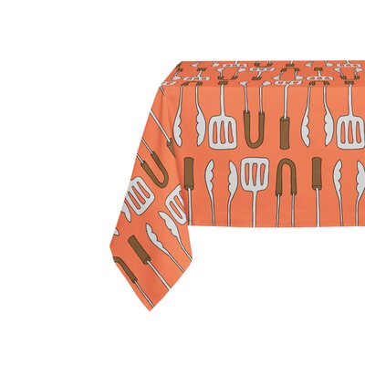Ziva Red Table Cloth