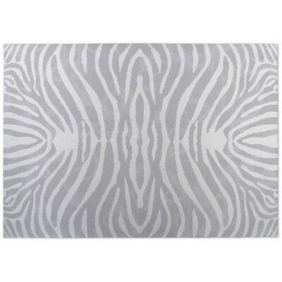 Nerbone Doormat Color: Grey/ Ivory