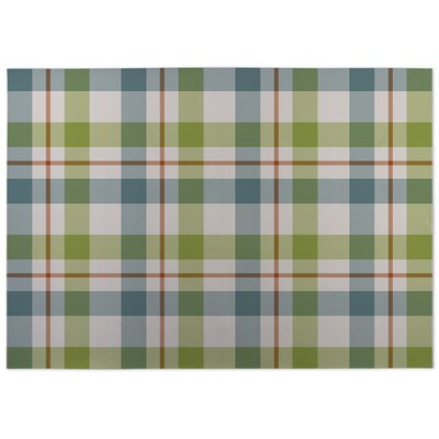 Warner Plaid Rectangle Doormat