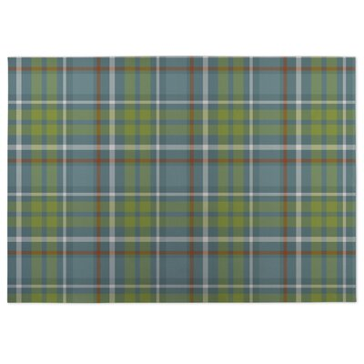 Warner Plaid Doormat