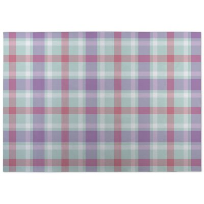 Malvina Plaid Doormat