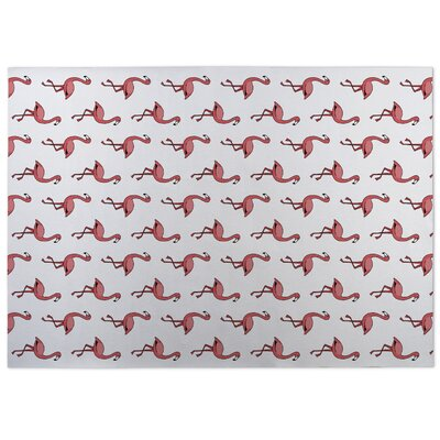 Analia Flamingos Doormat