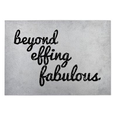 Knowlton Beyond Effing Fabulous Doormat