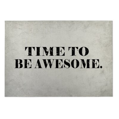 Knupp Time To Be Awesome Doormat